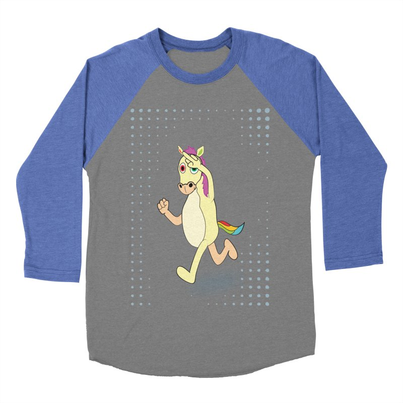 UNICORN Women's Baseball Triblend Longsleeve T-Shirt by Sinazz's Artist Shop