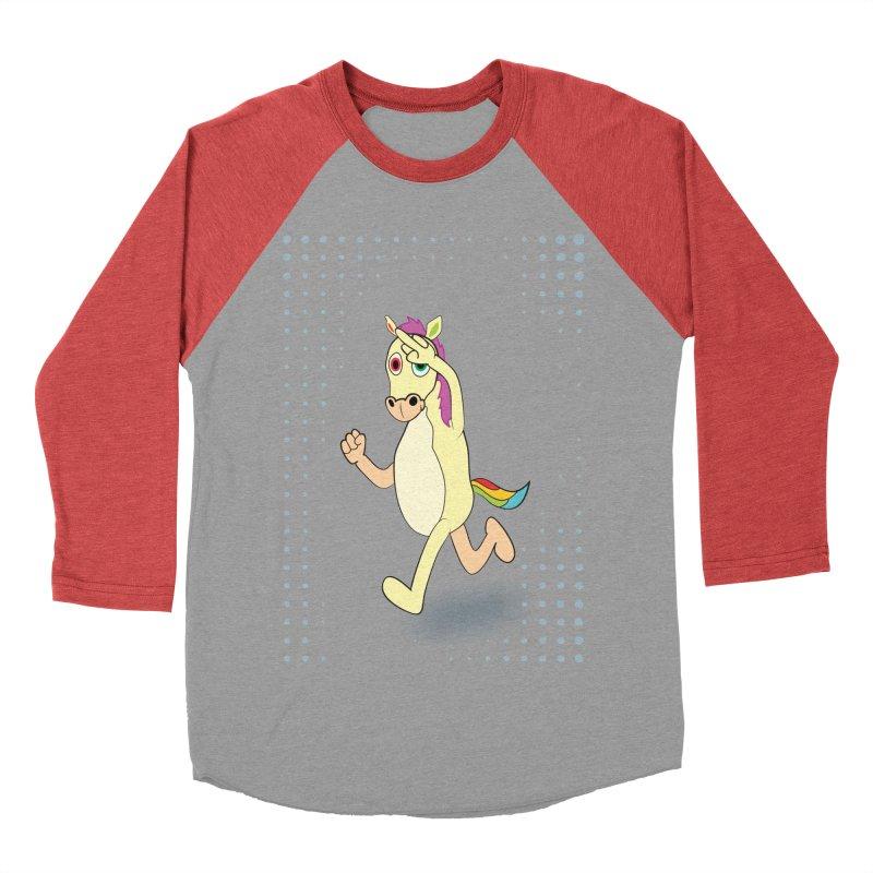 UNICORN Women's Baseball Triblend Longsleeve T-Shirt by Sinazz's Artist Shop