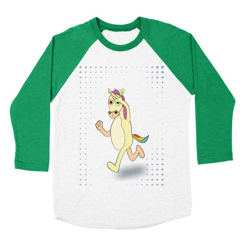 UNICORN Men's Baseball Triblend T-Shirt by Sinazz's Artist Shop