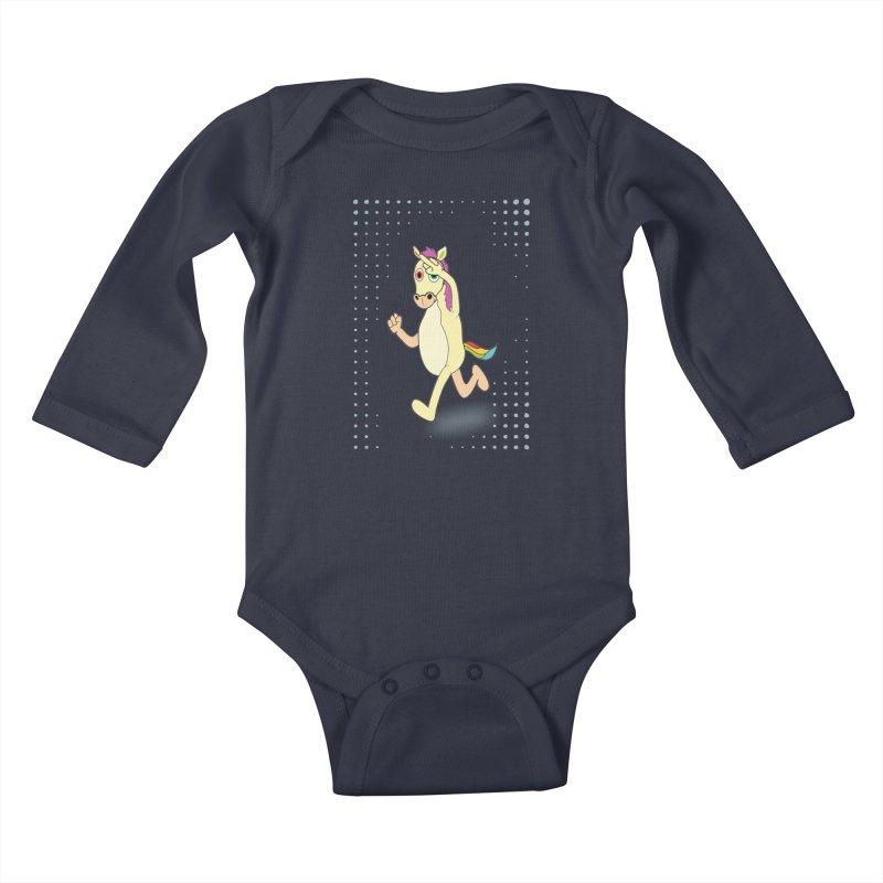 UNICORN Kids Baby Longsleeve Bodysuit by Sinazz's Artist Shop