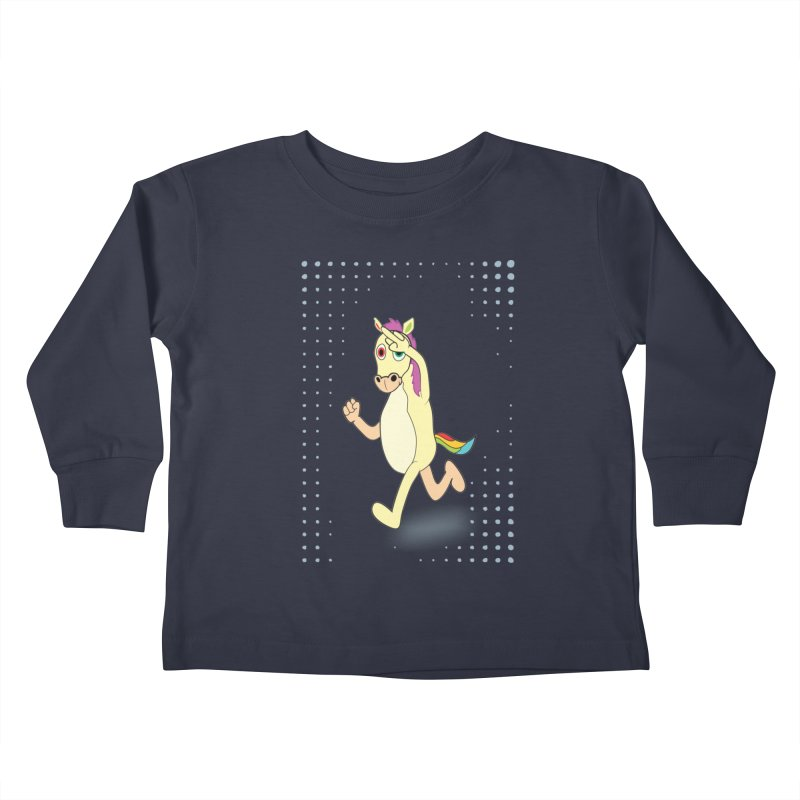 UNICORN Kids Toddler Longsleeve T-Shirt by Sinazz's Artist Shop