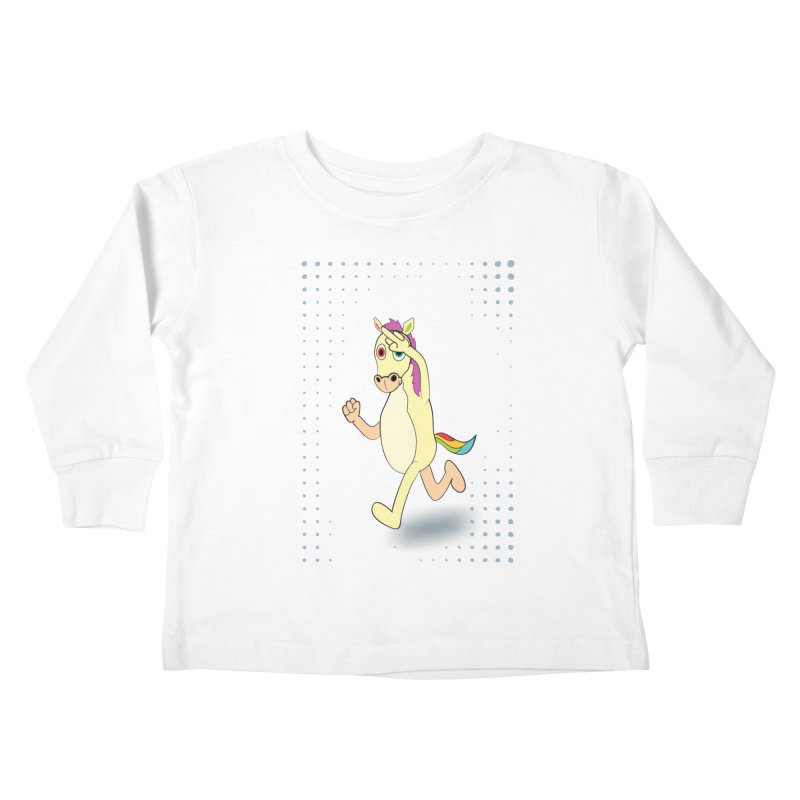 UNICORN Kids Toddler Longsleeve T-Shirt by Sinazz's Artist Shop