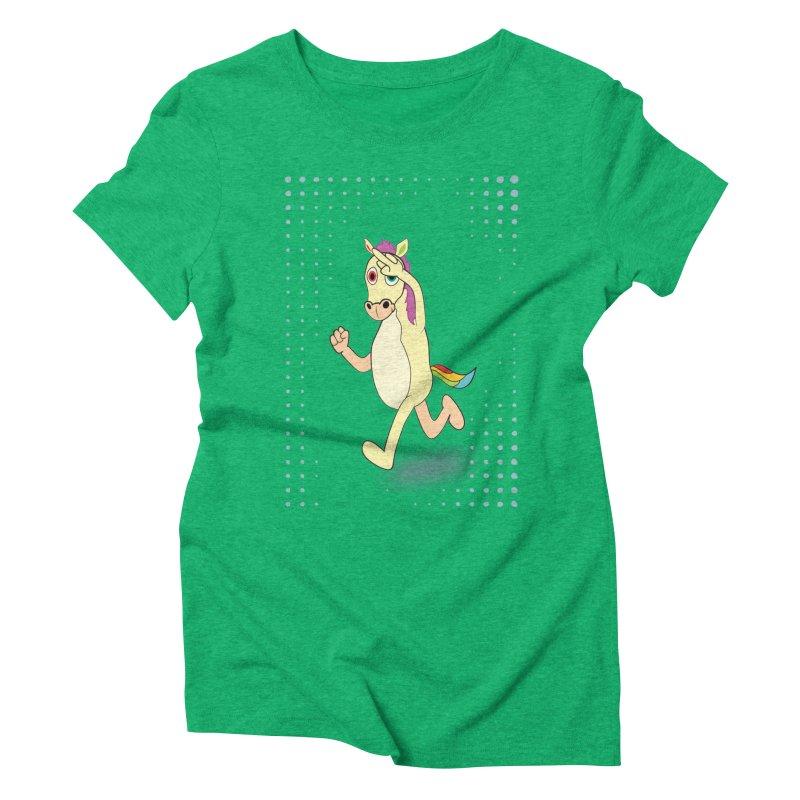 UNICORN Women's Triblend T-shirt by Sinazz's Artist Shop