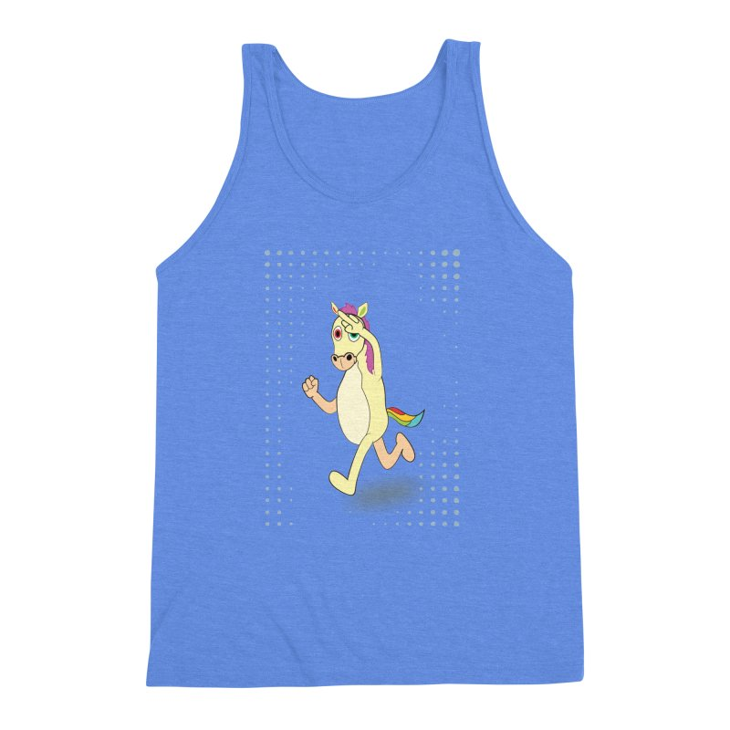 UNICORN Men's Triblend Tank by Sinazz's Artist Shop