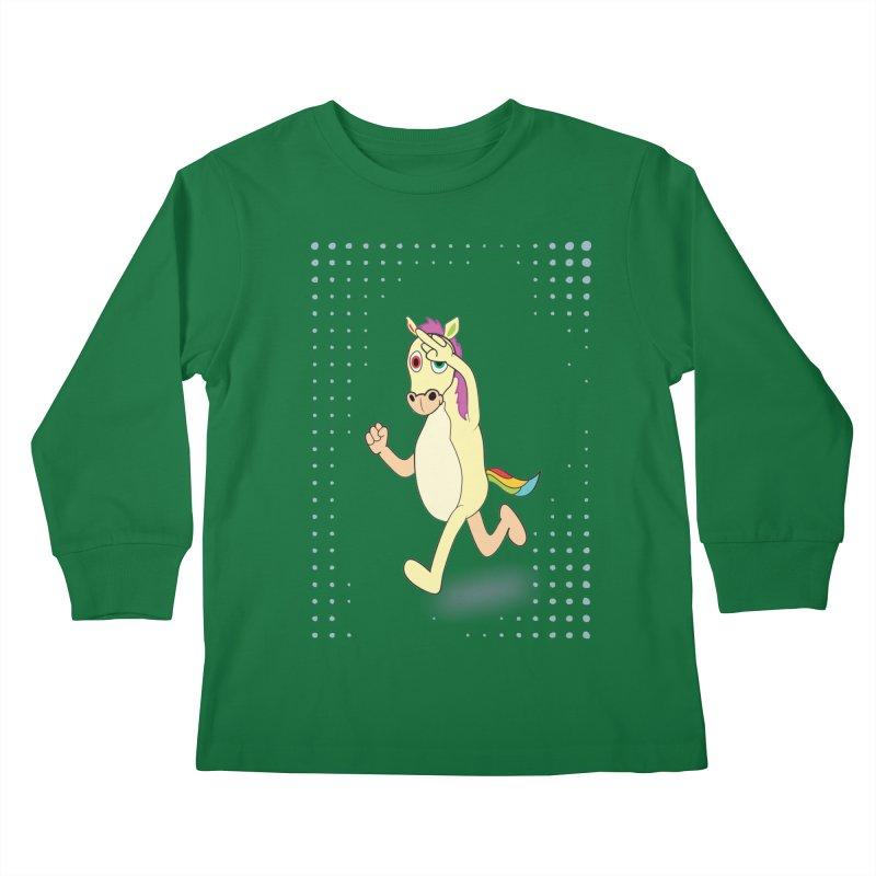 UNICORN Kids Longsleeve T-Shirt by Sinazz's Artist Shop