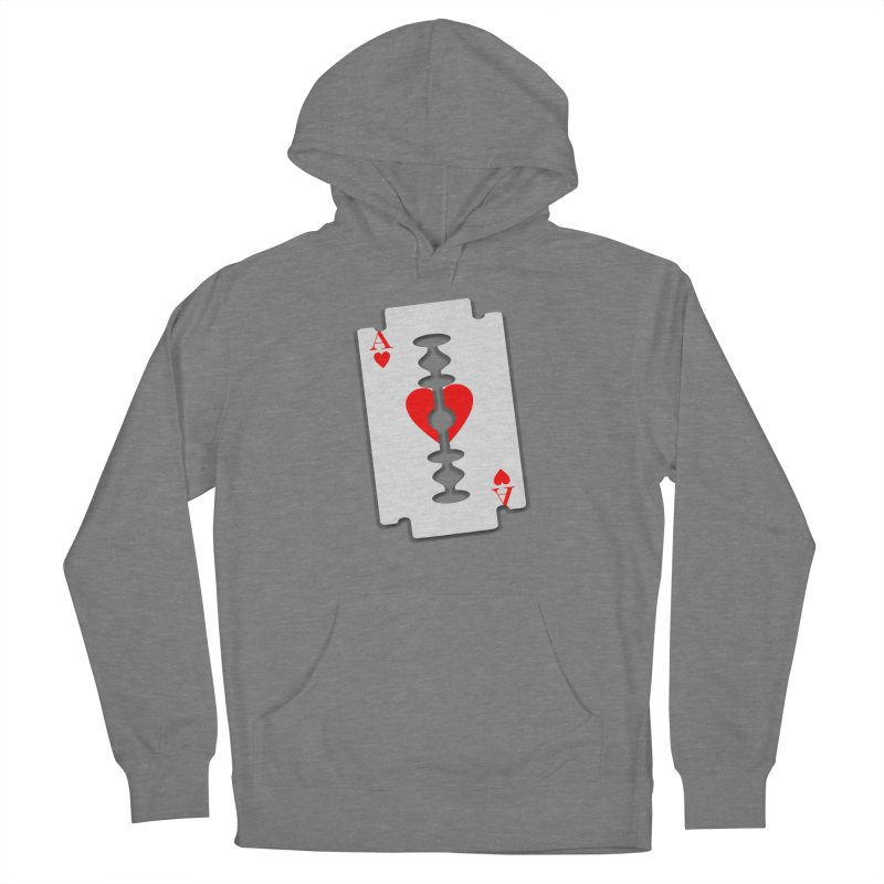 LOVE HURTS Women's Pullover Hoody by Sinazz's Artist Shop