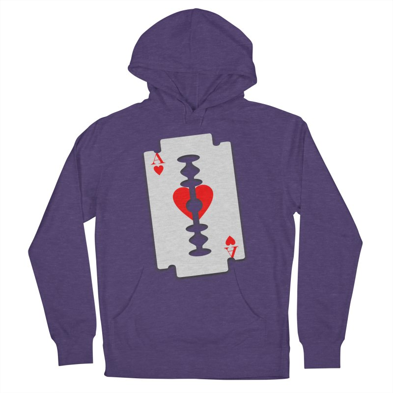 LOVE HURTS Men's Pullover Hoody by Sinazz's Artist Shop