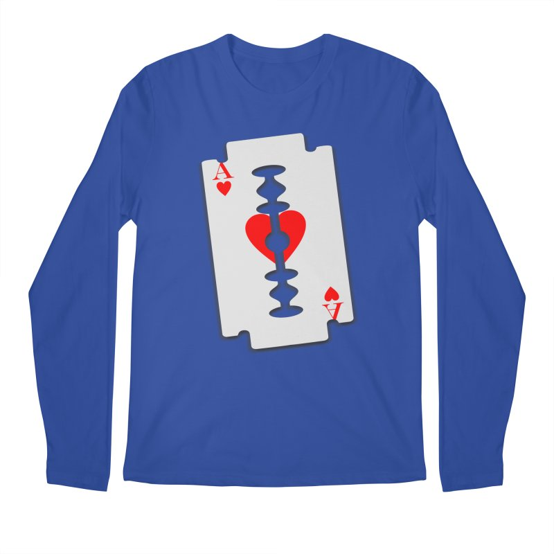 LOVE HURTS Men's Regular Longsleeve T-Shirt by Sinazz's Artist Shop