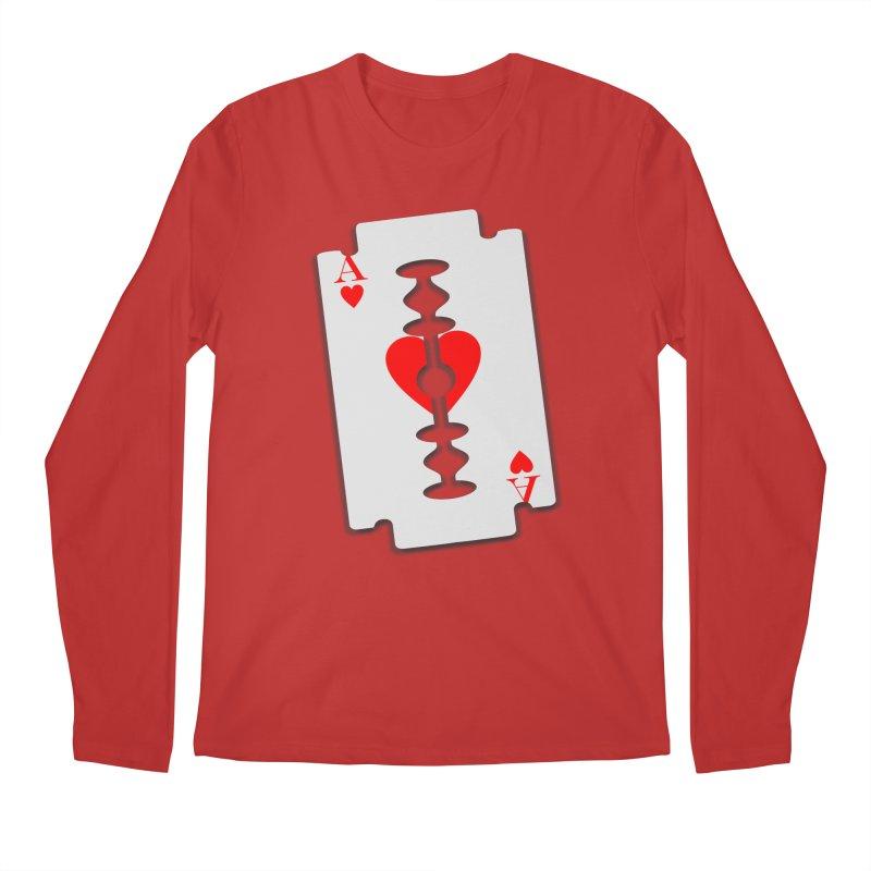 LOVE HURTS Men's Regular Longsleeve T-Shirt by Sinazz's Artist Shop
