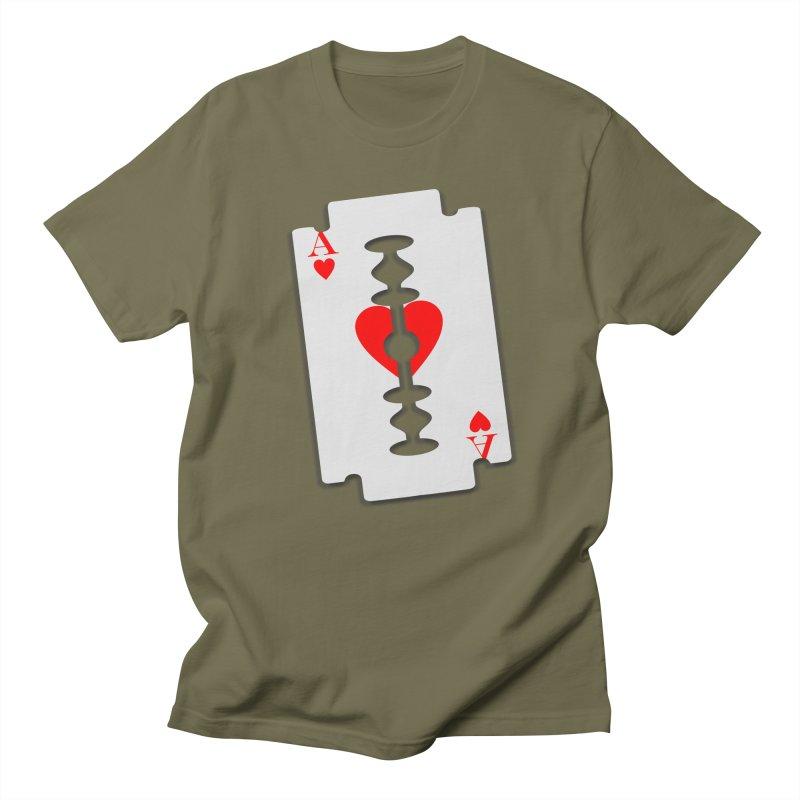 LOVE HURTS Men's Regular T-Shirt by Sinazz's Artist Shop