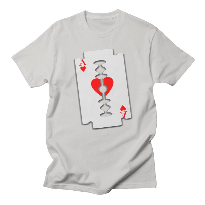 LOVE HURTS Women's Unisex T-Shirt by Sinazz's Artist Shop