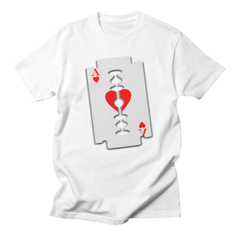 LOVE HURTS Men's Regular T-Shirt by Sinazz's Artist Shop