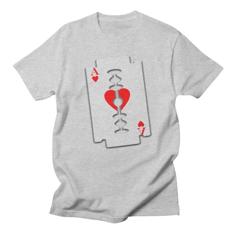 LOVE HURTS Women's Regular Unisex T-Shirt by Sinazz's Artist Shop