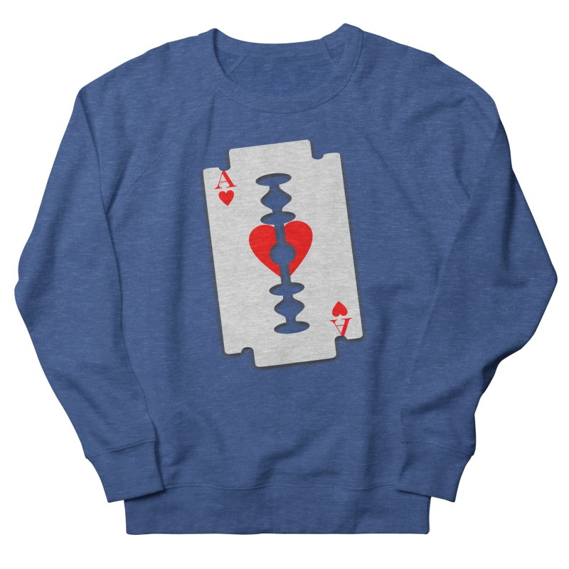 LOVE HURTS Women's French Terry Sweatshirt by Sinazz's Artist Shop