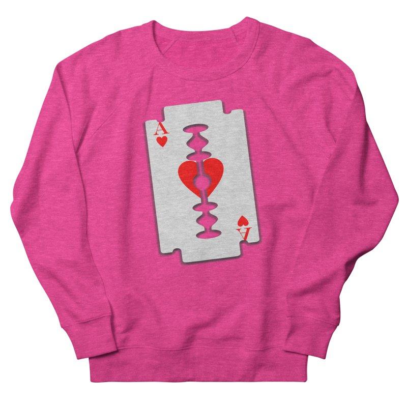 LOVE HURTS Women's Sweatshirt by Sinazz's Artist Shop