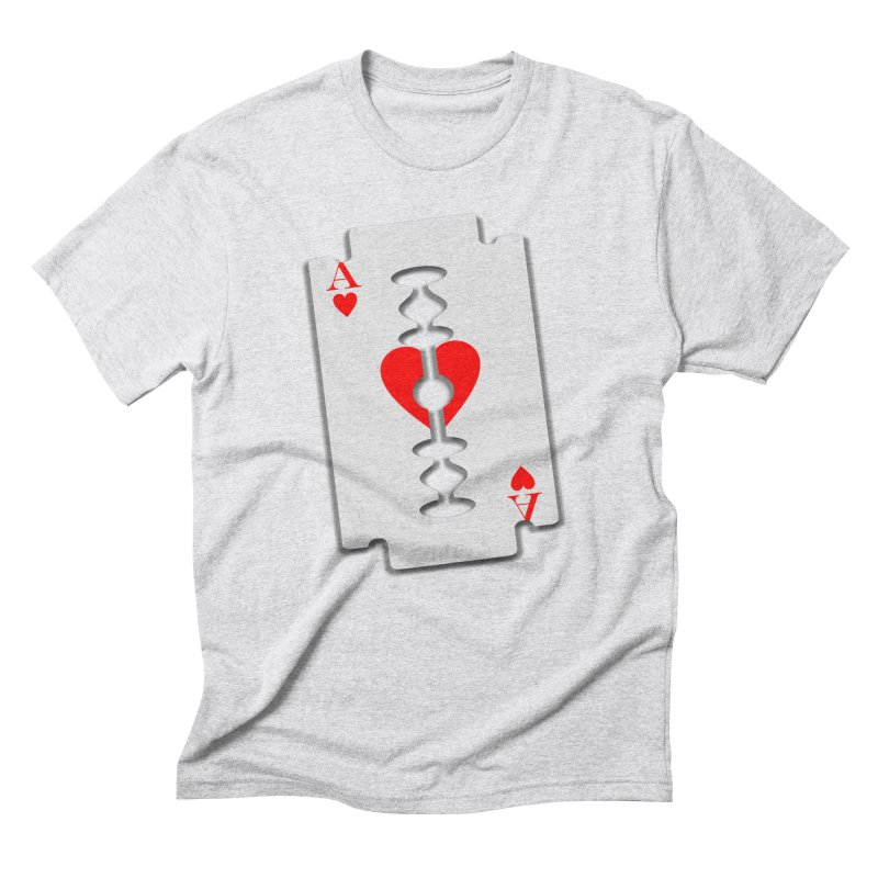 LOVE HURTS Men's Triblend T-Shirt by Sinazz's Artist Shop