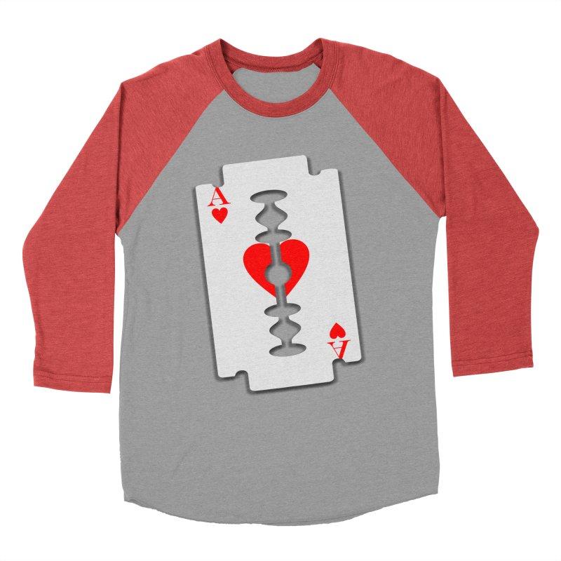 LOVE HURTS Men's Baseball Triblend Longsleeve T-Shirt by Sinazz's Artist Shop