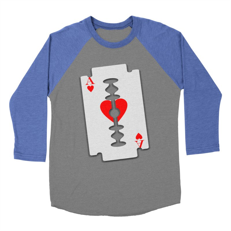 LOVE HURTS Men's Baseball Triblend T-Shirt by Sinazz's Artist Shop
