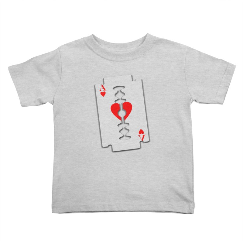 LOVE HURTS Kids Toddler T-Shirt by Sinazz's Artist Shop
