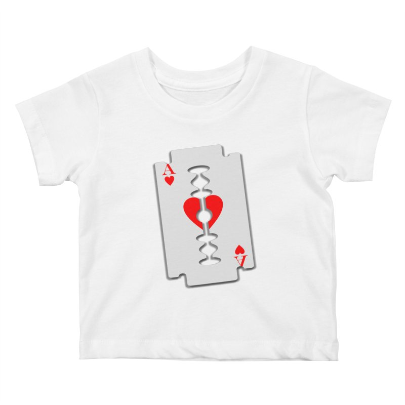 LOVE HURTS Kids Baby T-Shirt by Sinazz's Artist Shop