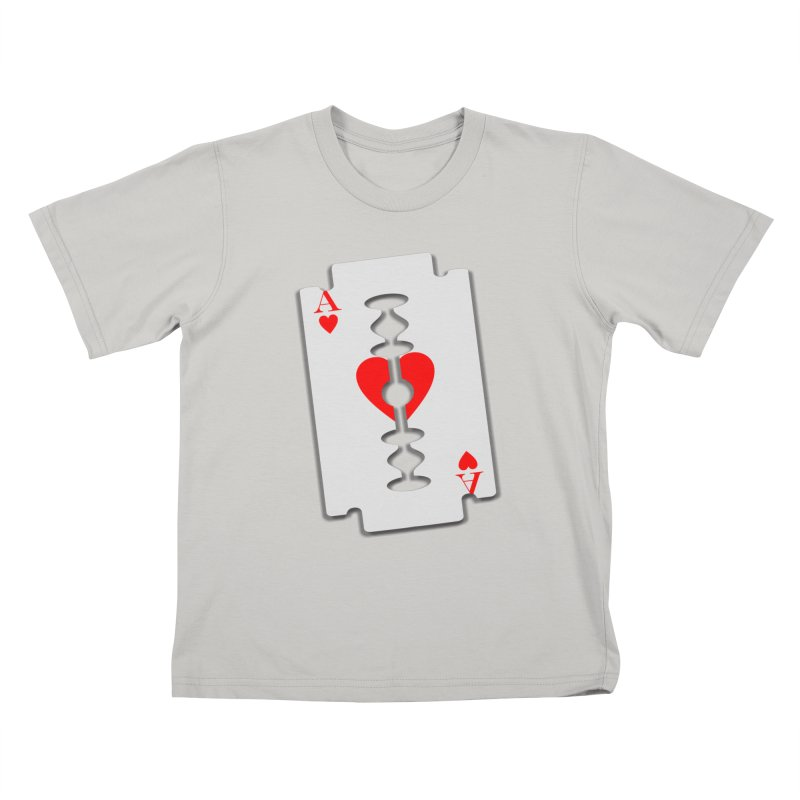 LOVE HURTS Kids T-shirt by Sinazz's Artist Shop
