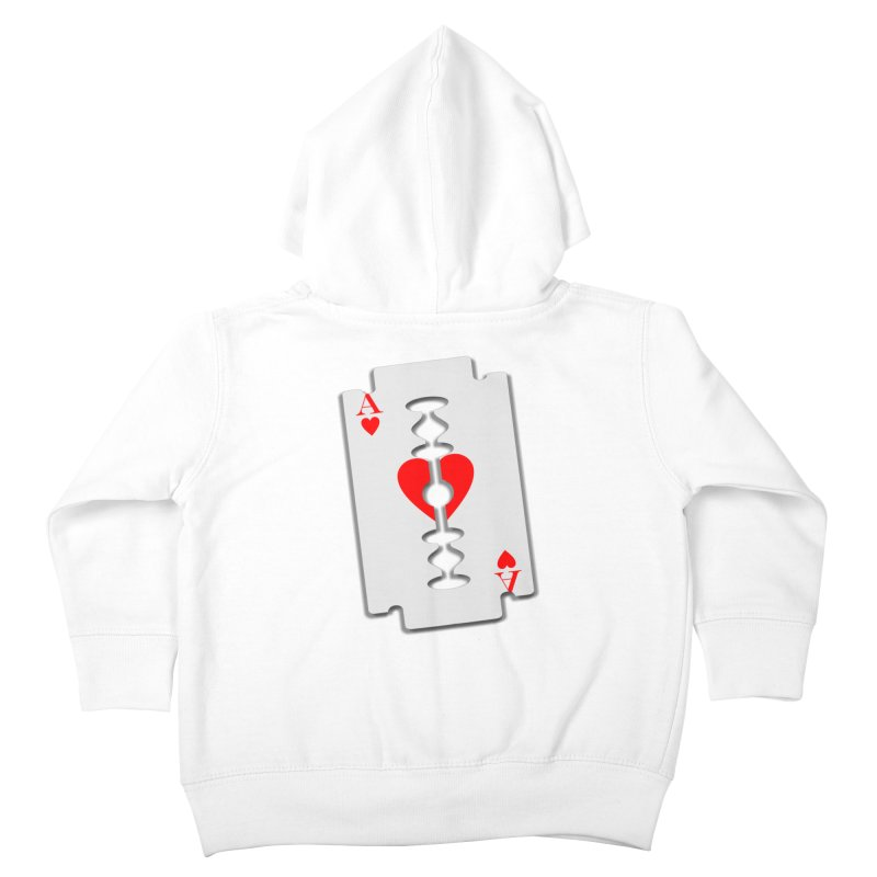 LOVE HURTS Kids Toddler Zip-Up Hoody by Sinazz's Artist Shop