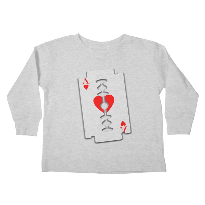 LOVE HURTS Kids Toddler Longsleeve T-Shirt by Sinazz's Artist Shop