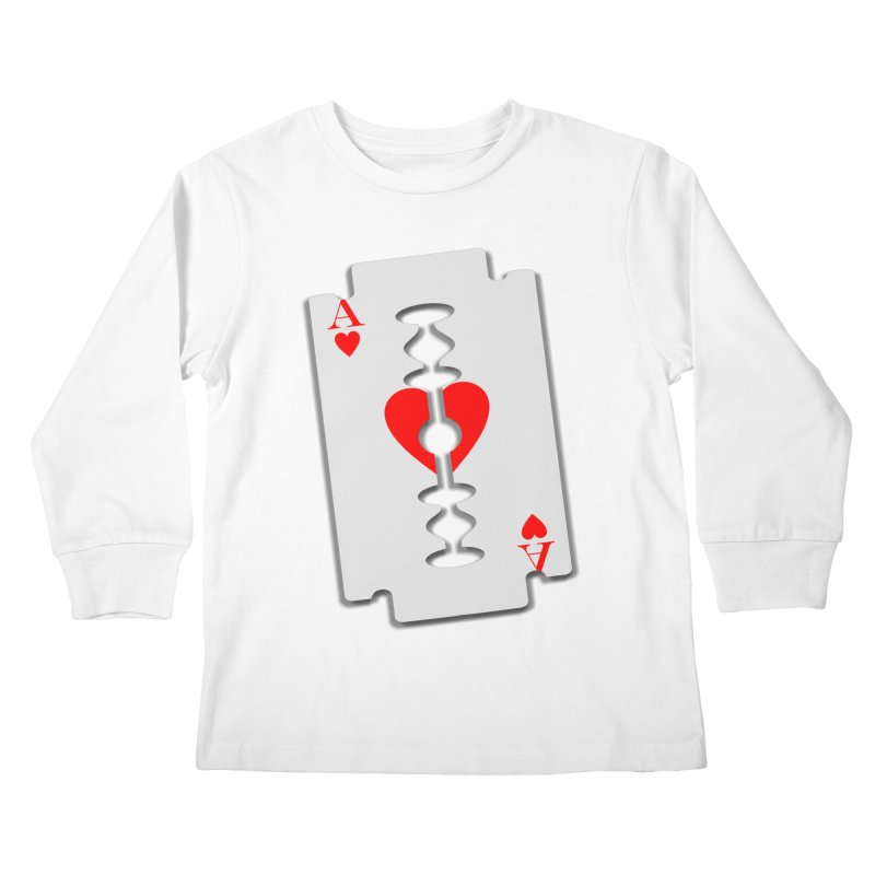 LOVE HURTS Kids Longsleeve T-Shirt by Sinazz's Artist Shop