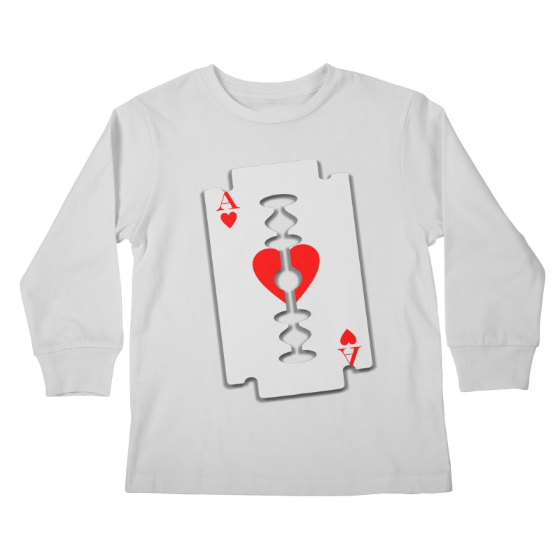 LOVE HURTS Kids Longsleeve T-Shirt by Sinazz's Artist Shop