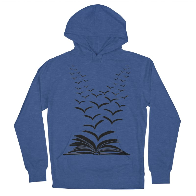 BEING FREE IS A STATE OF MIND! Men's French Terry Pullover Hoody by Sinazz's Artist Shop
