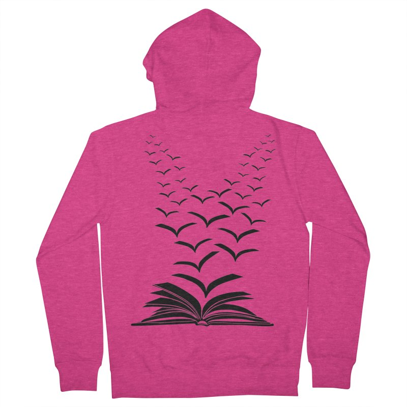 BEING FREE IS A STATE OF MIND! Women's French Terry Zip-Up Hoody by Sinazz's Artist Shop