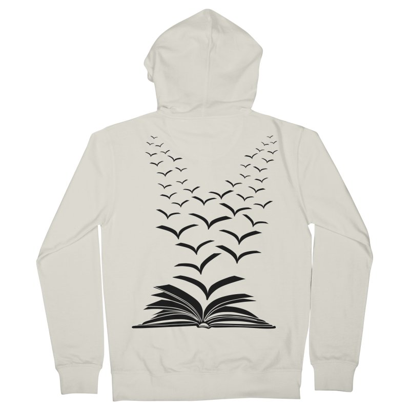 BEING FREE IS A STATE OF MIND! Men's Zip-Up Hoody by Sinazz's Artist Shop