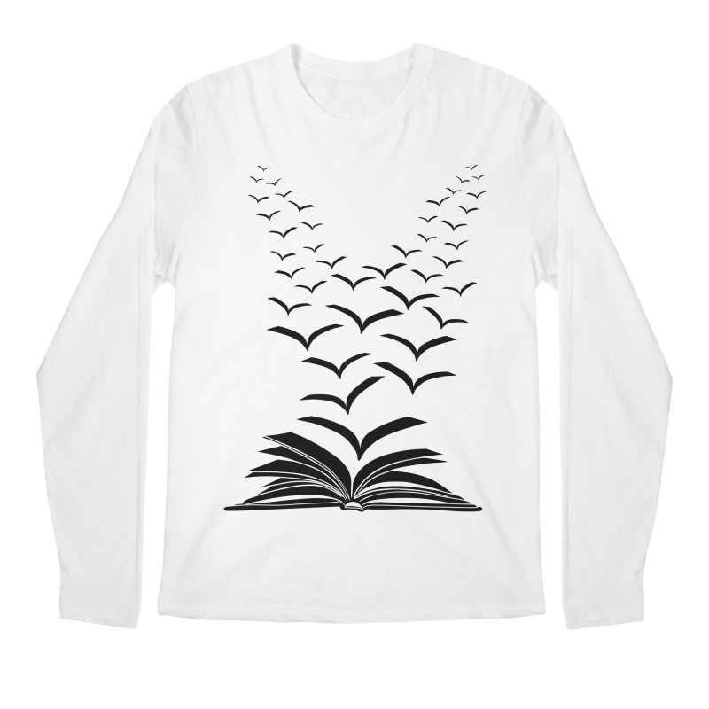 BEING FREE IS A STATE OF MIND! Men's Regular Longsleeve T-Shirt by Sinazz's Artist Shop