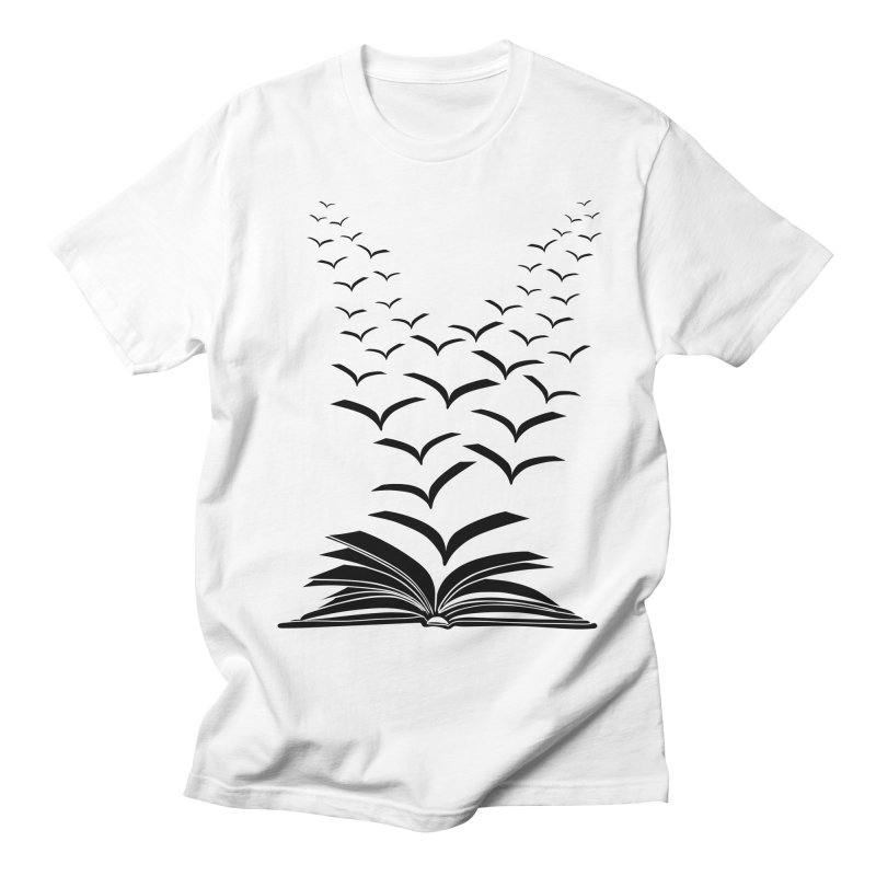 BEING FREE IS A STATE OF MIND! Men's T-shirt by Sinazz's Artist Shop