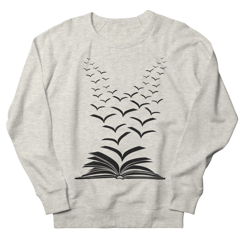 BEING FREE IS A STATE OF MIND! Men's French Terry Sweatshirt by Sinazz's Artist Shop