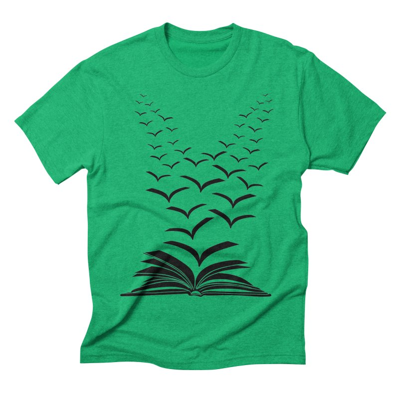 BEING FREE IS A STATE OF MIND! Men's Triblend T-Shirt by Sinazz's Artist Shop