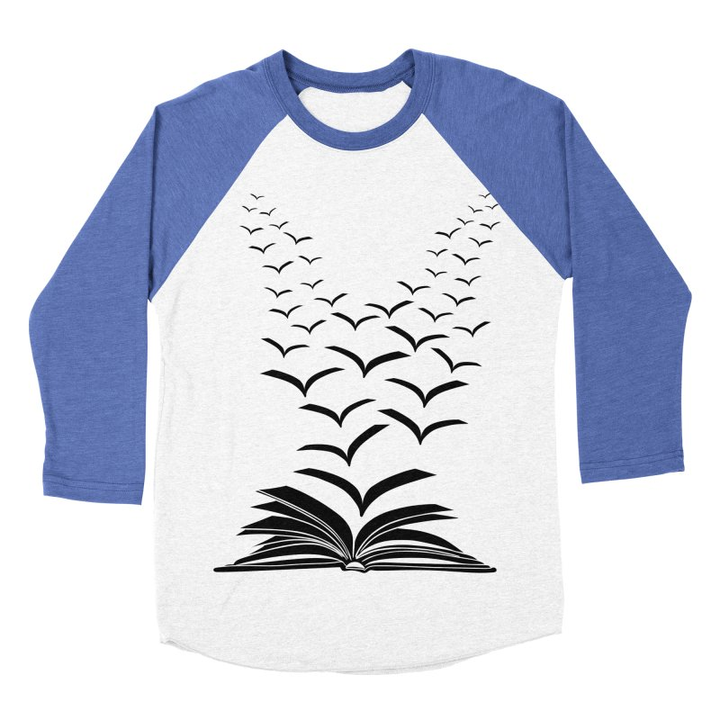 BEING FREE IS A STATE OF MIND! Women's Baseball Triblend Longsleeve T-Shirt by Sinazz's Artist Shop