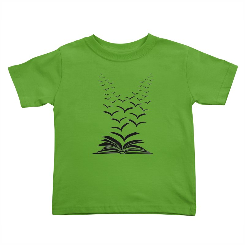 BEING FREE IS A STATE OF MIND! Kids Toddler T-Shirt by Sinazz's Artist Shop