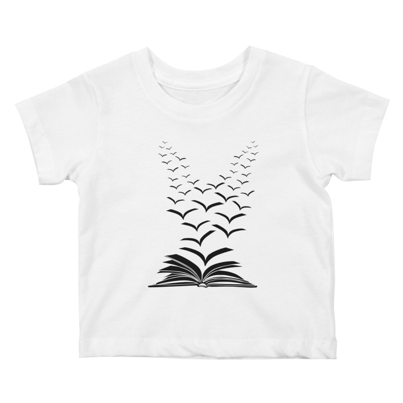 BEING FREE IS A STATE OF MIND! Kids Baby T-Shirt by Sinazz's Artist Shop