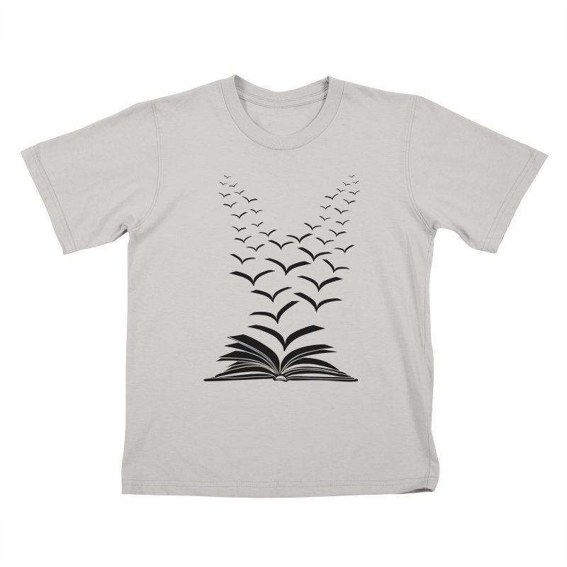 BEING FREE IS A STATE OF MIND! Kids T-shirt by Sinazz's Artist Shop
