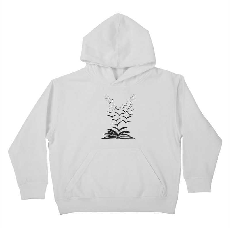 BEING FREE IS A STATE OF MIND! Kids Pullover Hoody by Sinazz's Artist Shop