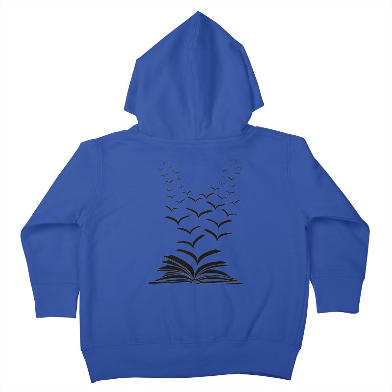 BEING FREE IS A STATE OF MIND! Kids Toddler Zip-Up Hoody by Sinazz's Artist Shop