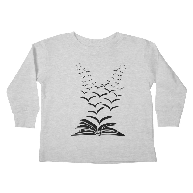 BEING FREE IS A STATE OF MIND! Kids Toddler Longsleeve T-Shirt by Sinazz's Artist Shop