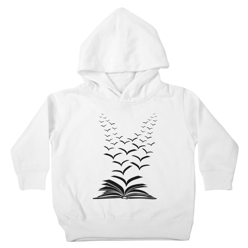 BEING FREE IS A STATE OF MIND! Kids Toddler Pullover Hoody by Sinazz's Artist Shop