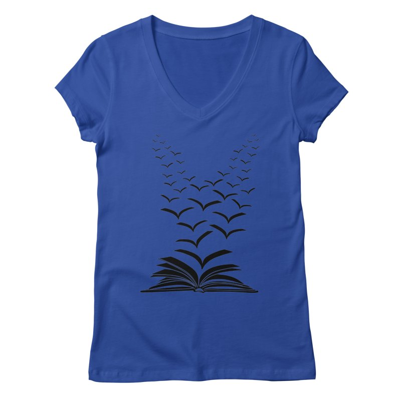 BEING FREE IS A STATE OF MIND! Women's V-Neck by Sinazz's Artist Shop