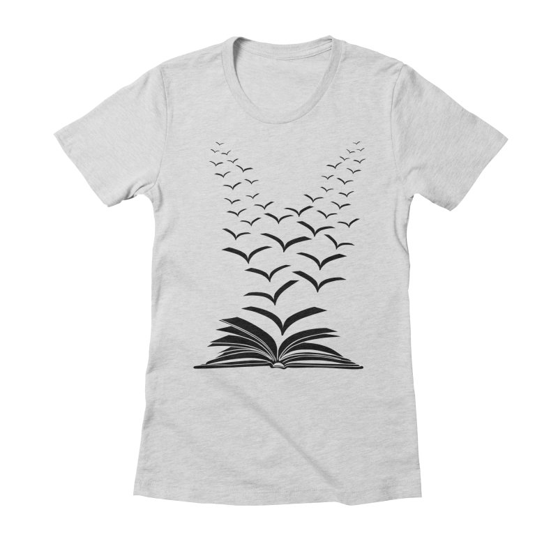 BEING FREE IS A STATE OF MIND! Women's Fitted T-Shirt by Sinazz's Artist Shop