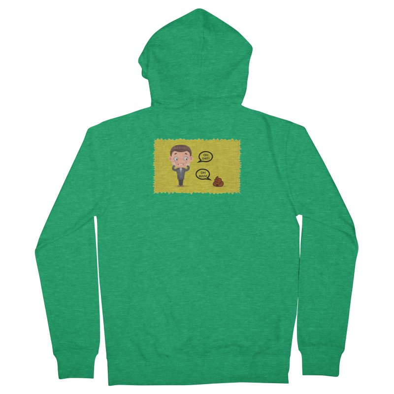 CAN I SPEAK TO YOU Men's Zip-Up Hoody by Sinazz's Artist Shop