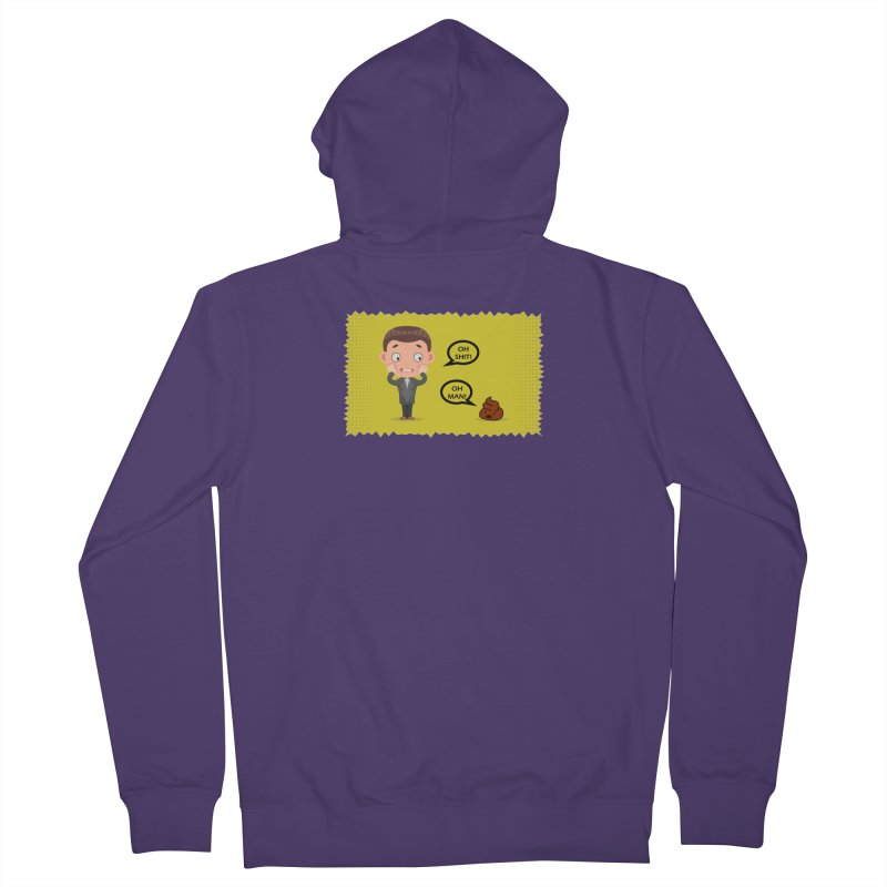 CAN I SPEAK TO YOU Women's French Terry Zip-Up Hoody by Sinazz's Artist Shop