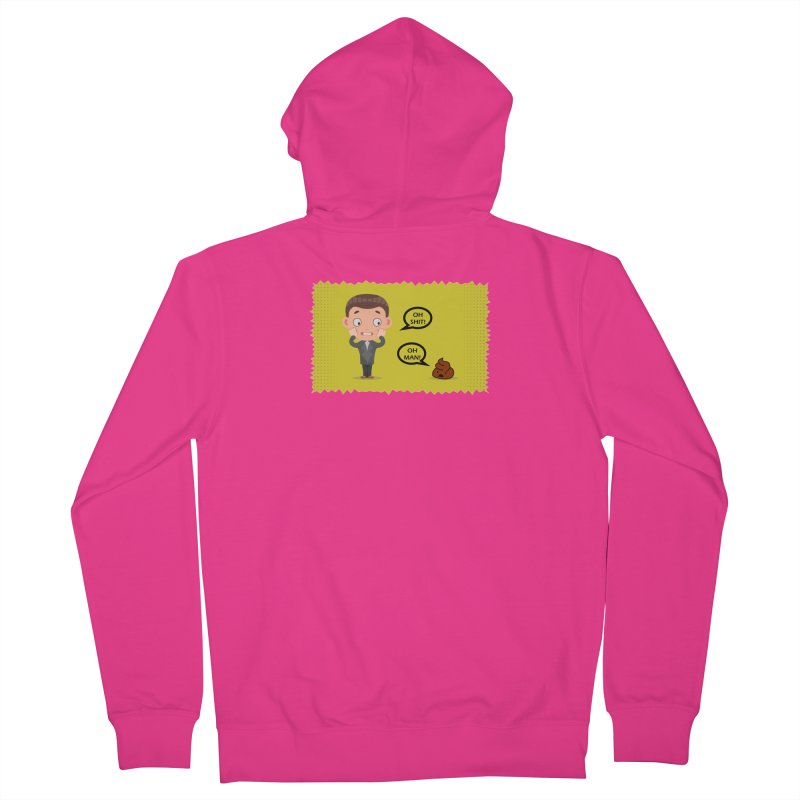 CAN I SPEAK TO YOU Men's French Terry Zip-Up Hoody by Sinazz's Artist Shop