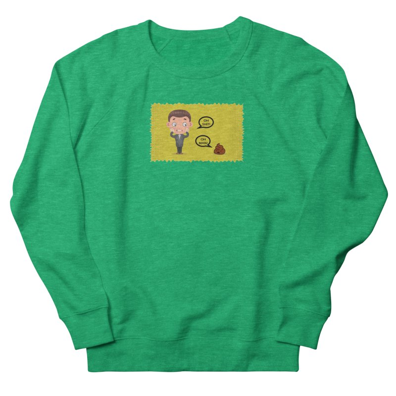 CAN I SPEAK TO YOU Women's French Terry Sweatshirt by Sinazz's Artist Shop